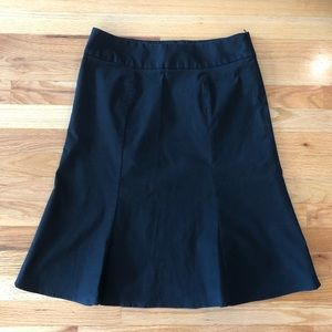 Gap Flutter Skirt Sz 8 Black